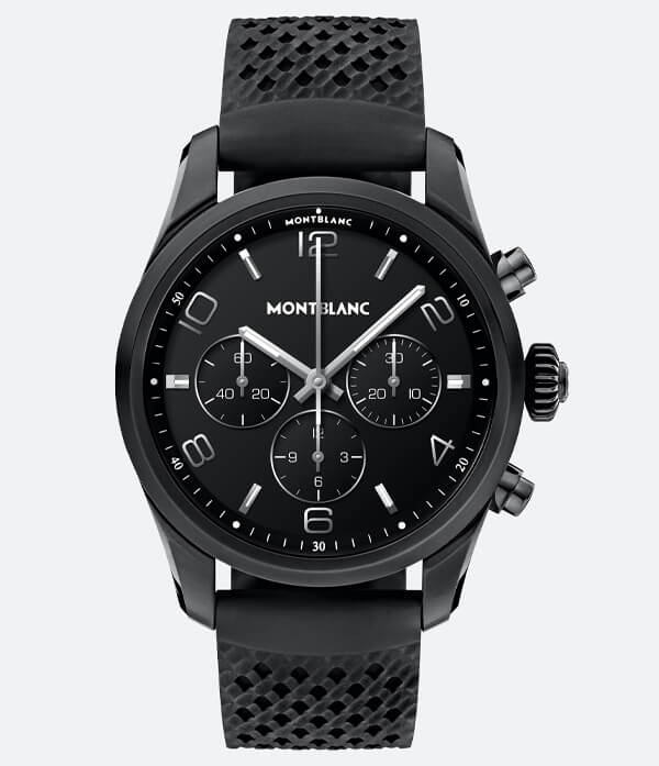 Montblanc Summit 2+ Stainless Steel Black and Rubber