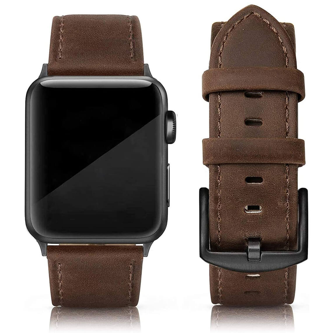 SWEES Leather Band for Apple Watch