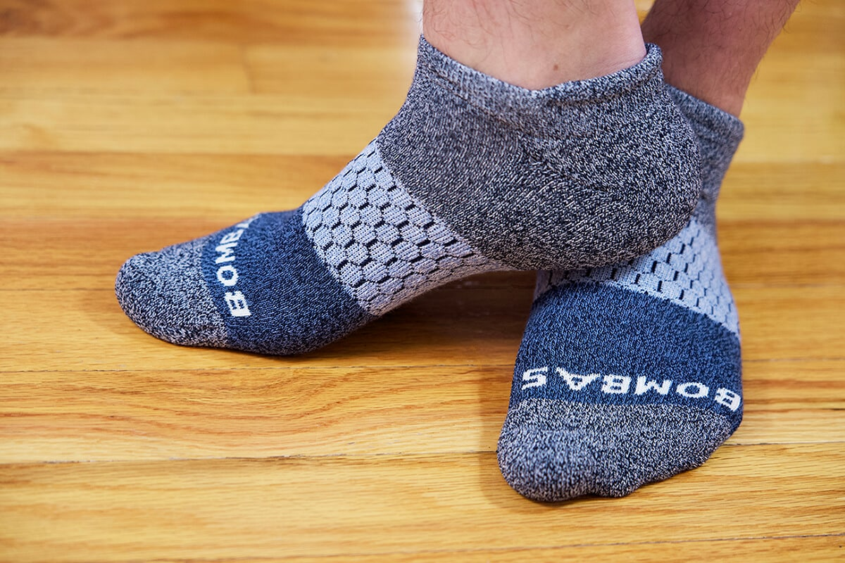 Men's Tri-Block Ankle Sock