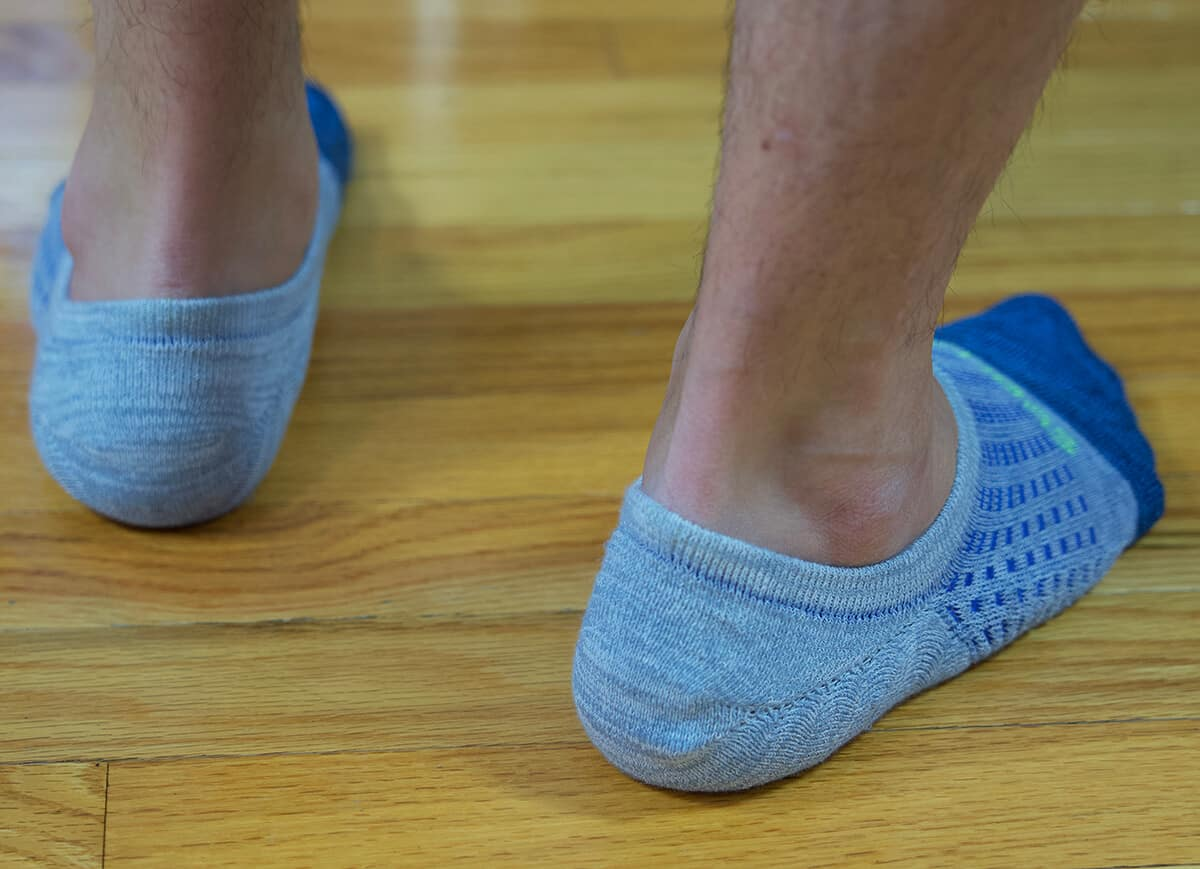 Men's Performance Cushioned No Show Socks