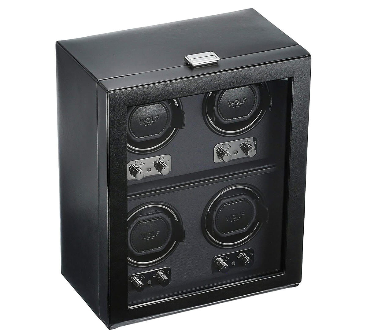 Wolf Heritage 4-Watch Winder