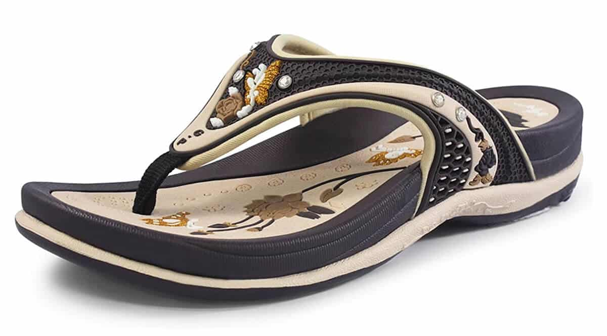 Gold Pigeon Shoes Signature Sandal