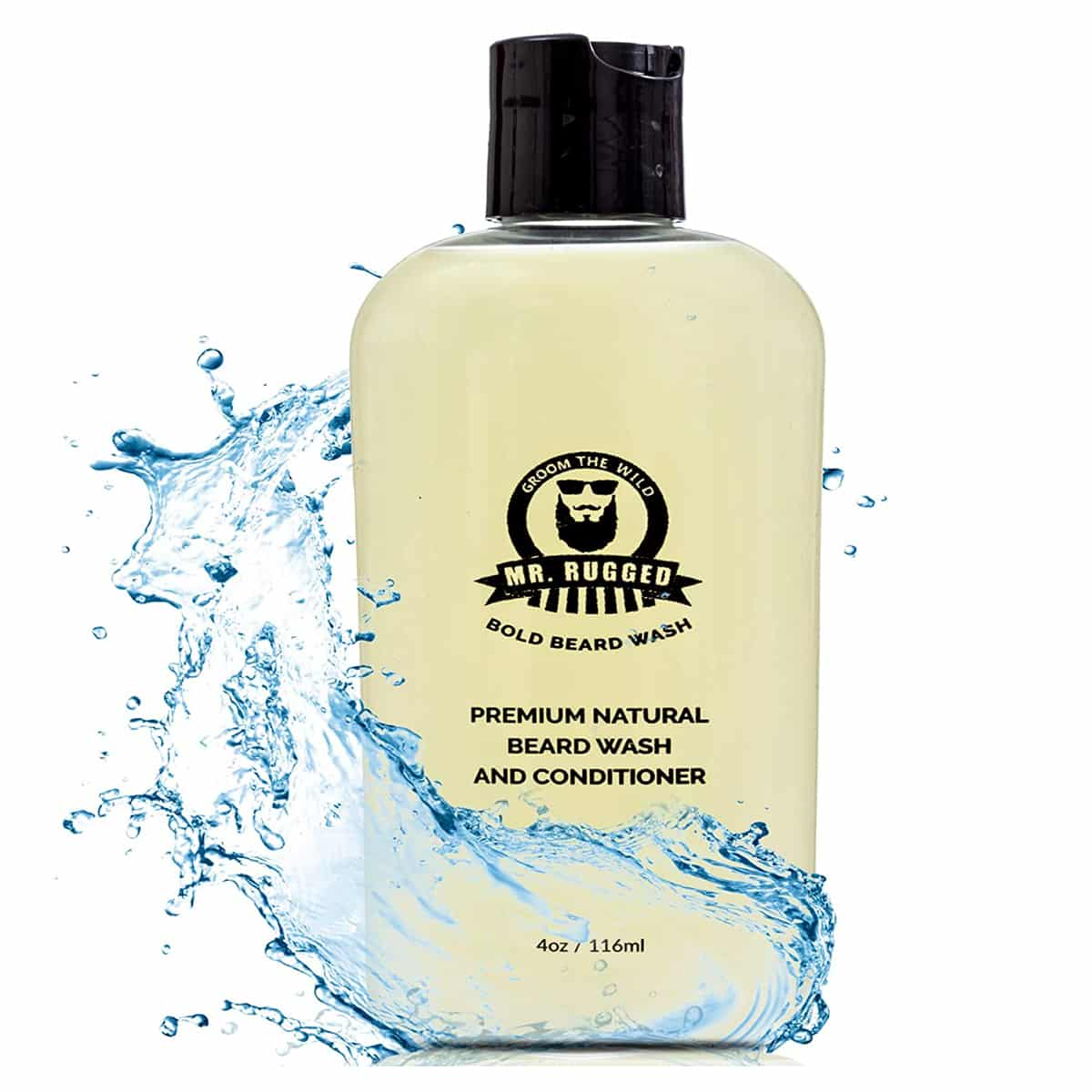 Mr. Rugged Beard Wash and Conditioner for Men