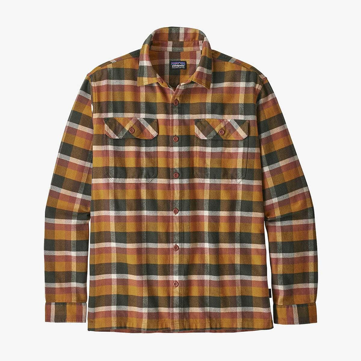 Patagonia - Men's Long-Sleeved Fjord Flannel Shirt