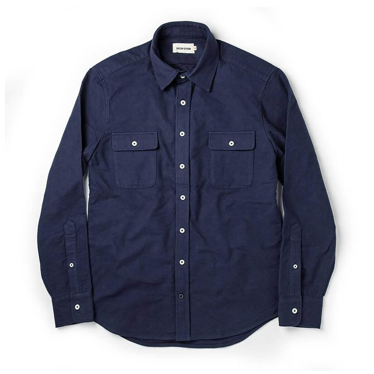 Taylor Stitch - The Yosemite Shirt in Navy
