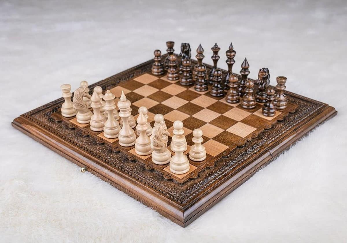 Chess Set | Wooden Chess Board