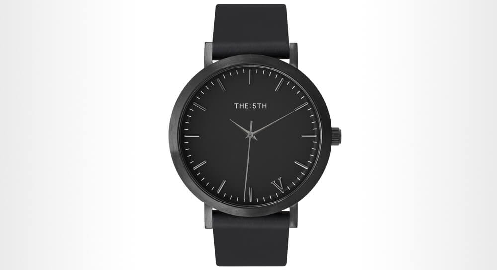 The 5th All Black Men's Watch