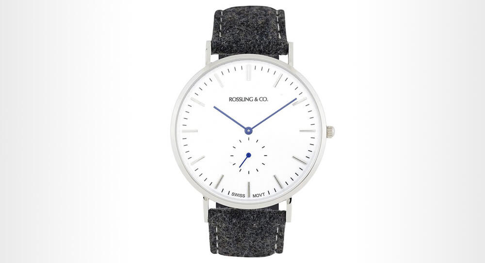Rossling & Co., CONTINENTAL 40MM - TWEED Watch