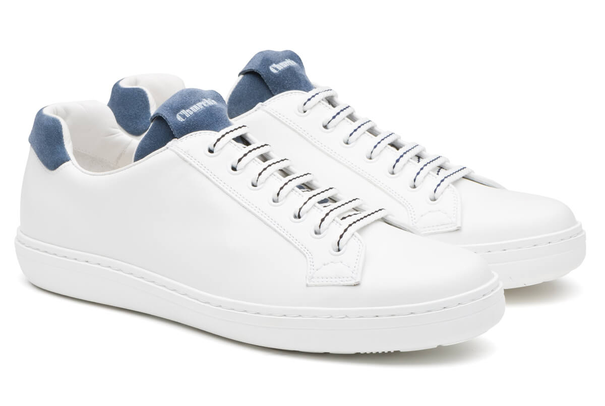 Boland Plus 2 Calf and Leather Suede Classic Sneaker