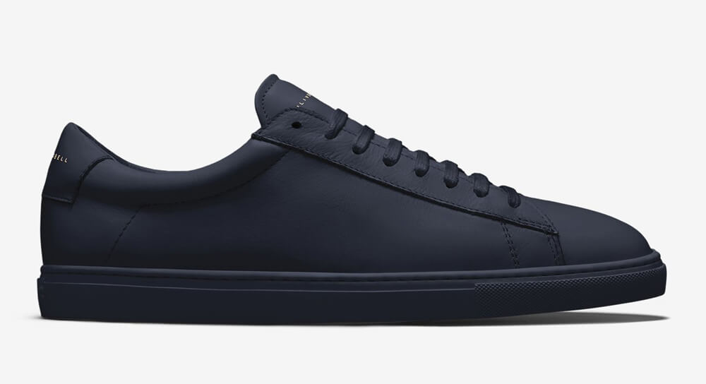 Oliver Cabell - Low 1 | Navy Minimalist Sneaker