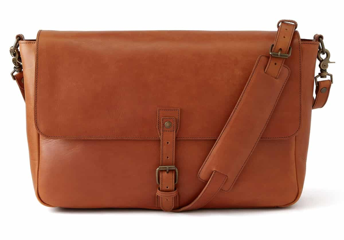 Standard Issue Leather Messenger