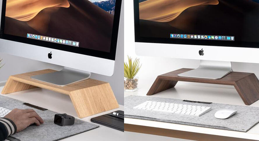 Oakywood - Wooden Monitor Stand