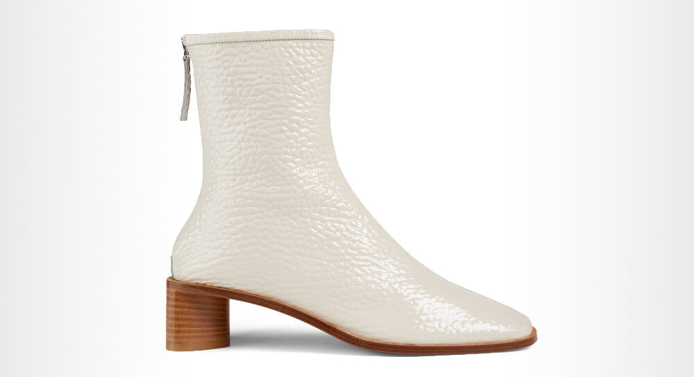 Acne Studios - Bertine Leather Heeled Ankle Boots