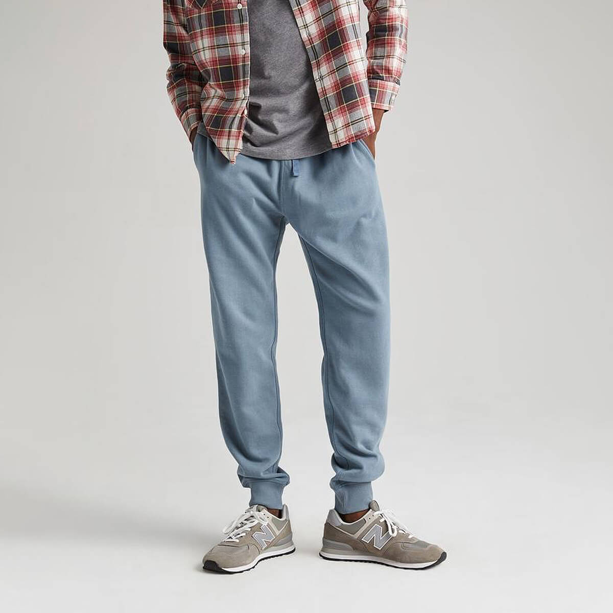 Men's Recycled Fleece Tapered Sweatpant