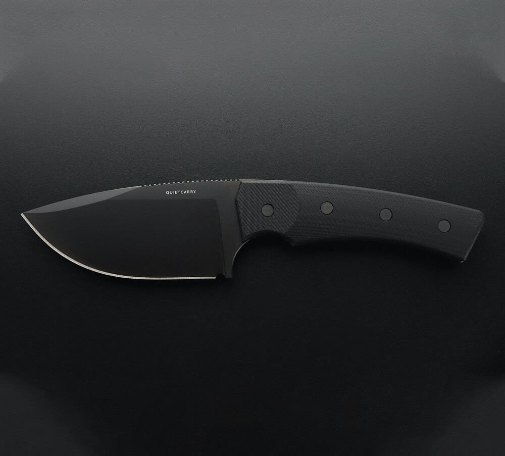Quiet Carry The Current Black Knife