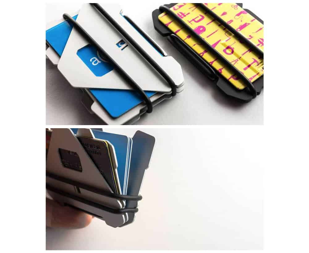 Obstructures - A4 Three Plate Aluminum Wallet