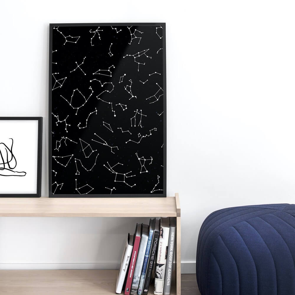Opposite Wall - Constellations, Poster