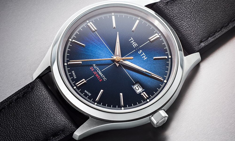 The 5th Blue Auto Watch