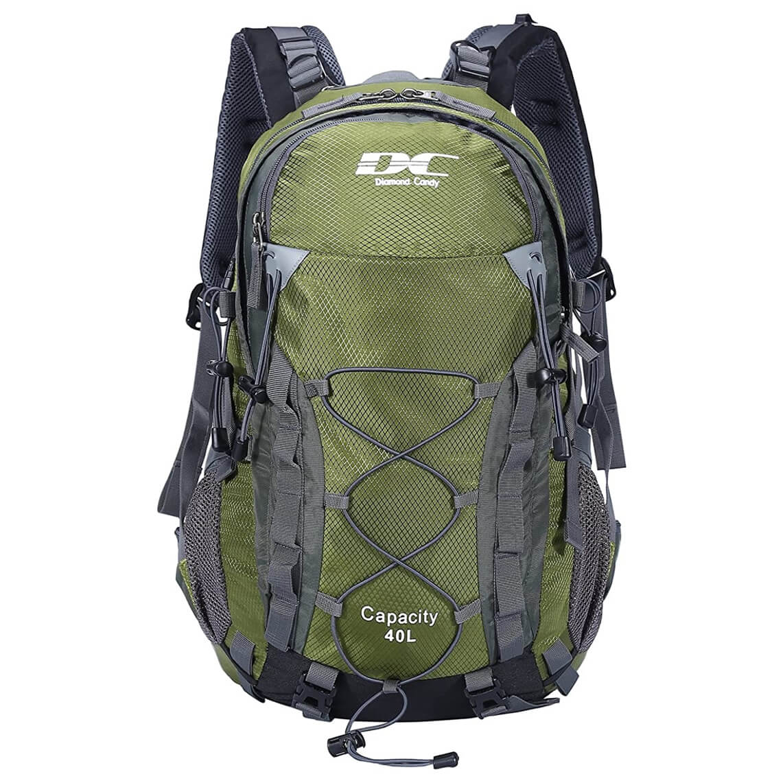 Diamond Candy Waterproof Hiking Backpack for Men and Women