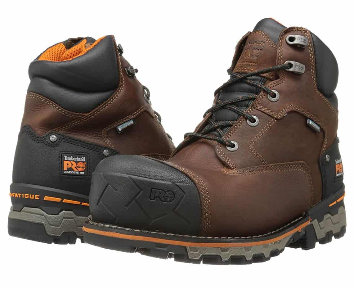 Timberland PRO Men's 6 Inch Boondock Comp Toe WP Insulated Industrial Work Boots
