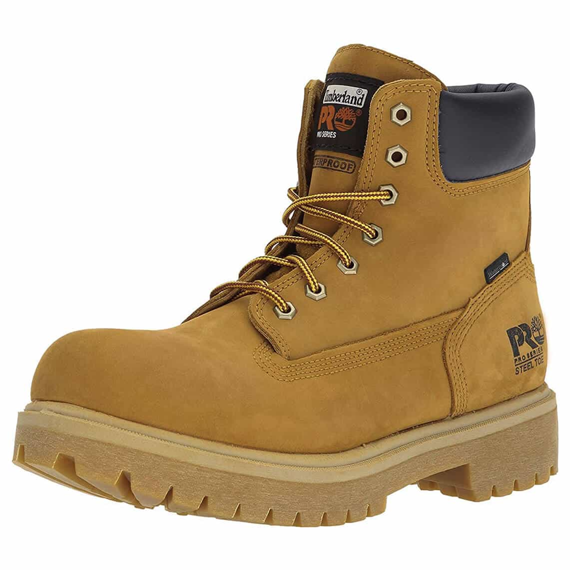 """Timberland PRO Men's 65016 Direct Attach 6"""" Steel Toe Boots"""