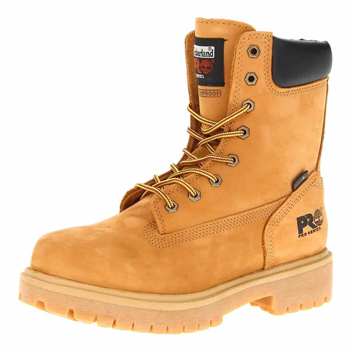 """Timberland PRO Men's 26011 Direct Attach 8"""" Soft-Toe Work Boots"""