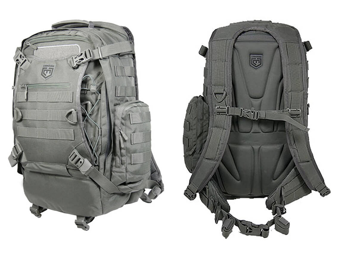 Cannae Pro Gear Phalanx Assault Full Size Pack with Helmet Carry