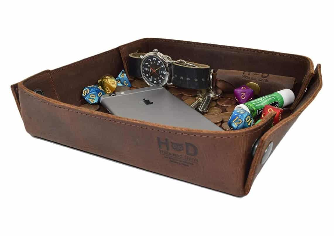 Hide & Drink Leather Catchall