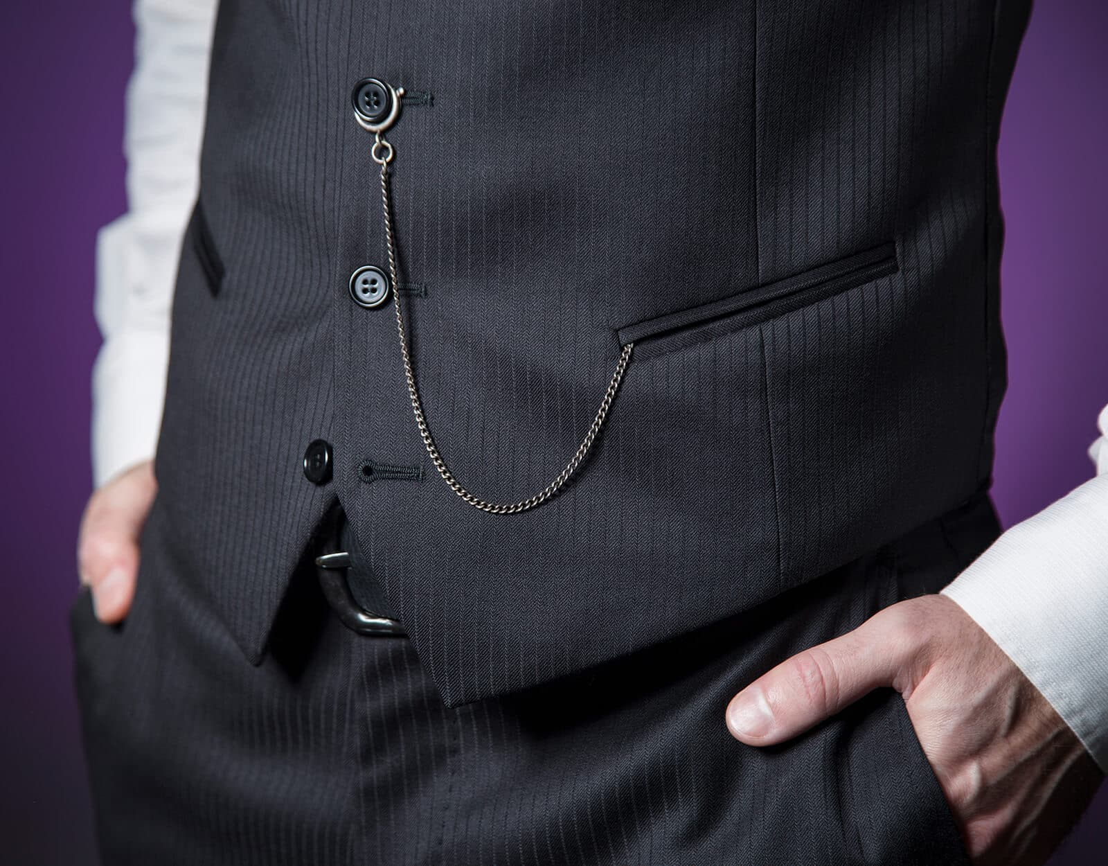 How to Wear a Pocket Watch with a Vest
