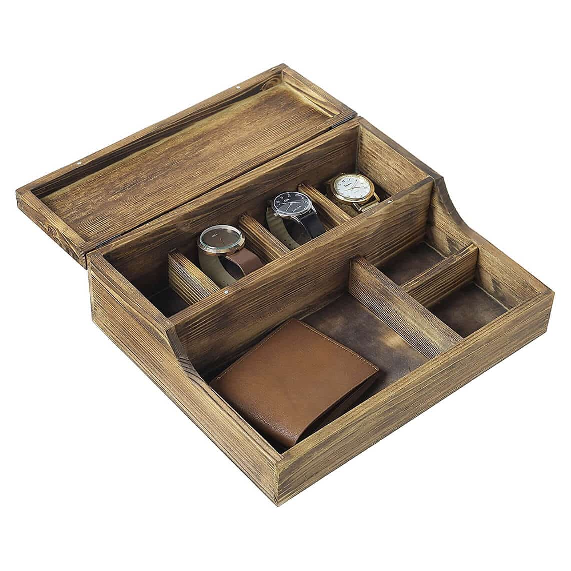MyGift Watch Case and Valet Tray