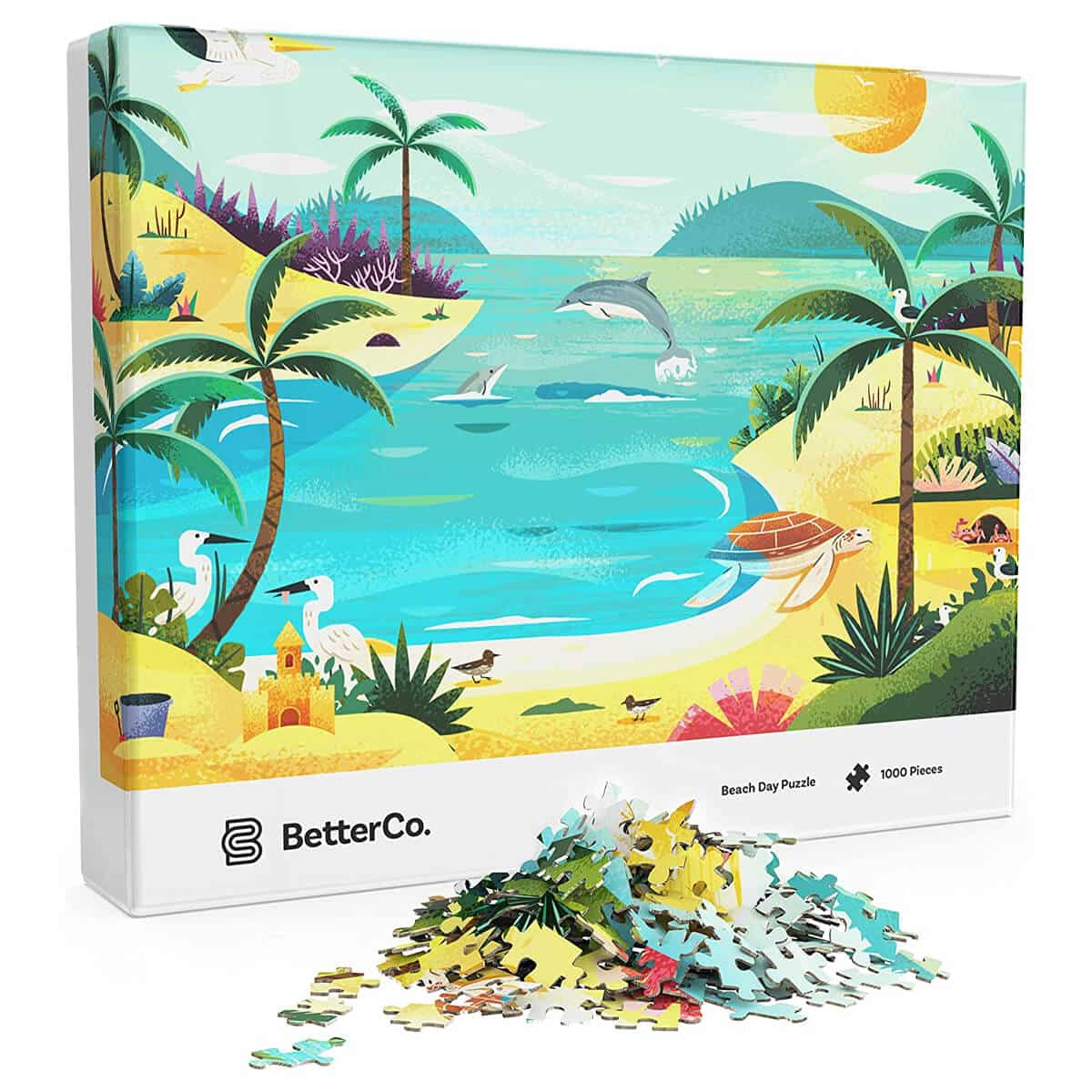 BetterCo. - Beach Day Puzzle 1000 Pieces