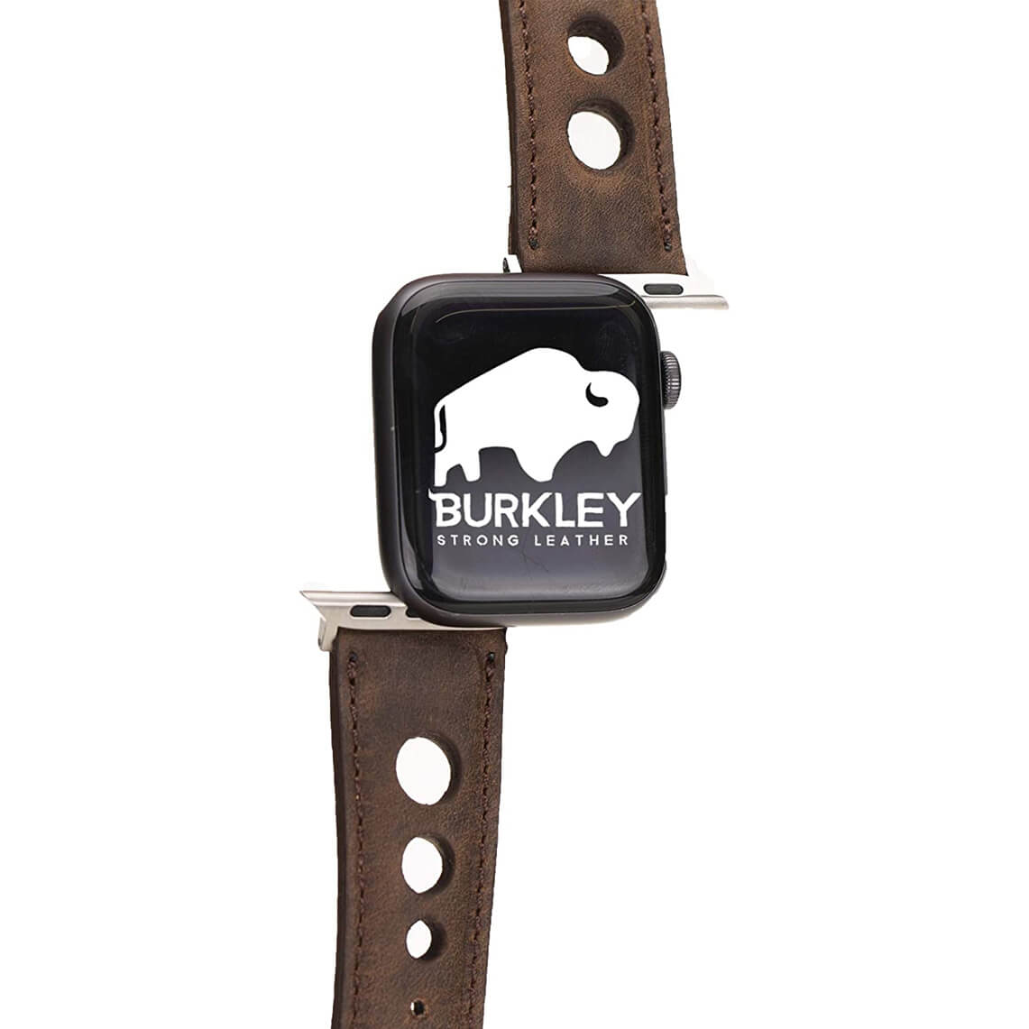 Burkley Genuine Leather Padded Watch Band