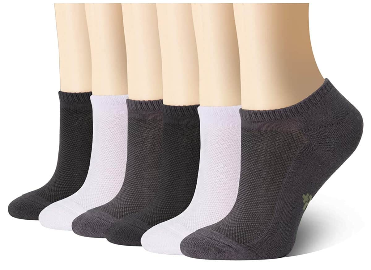 +MD Ultra Soft Athletic Bamboo Socks for Women and Men