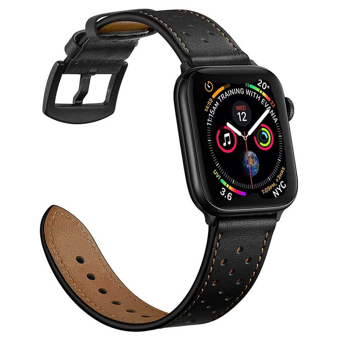 Mifa Leather Band Compatible with Apple Watch