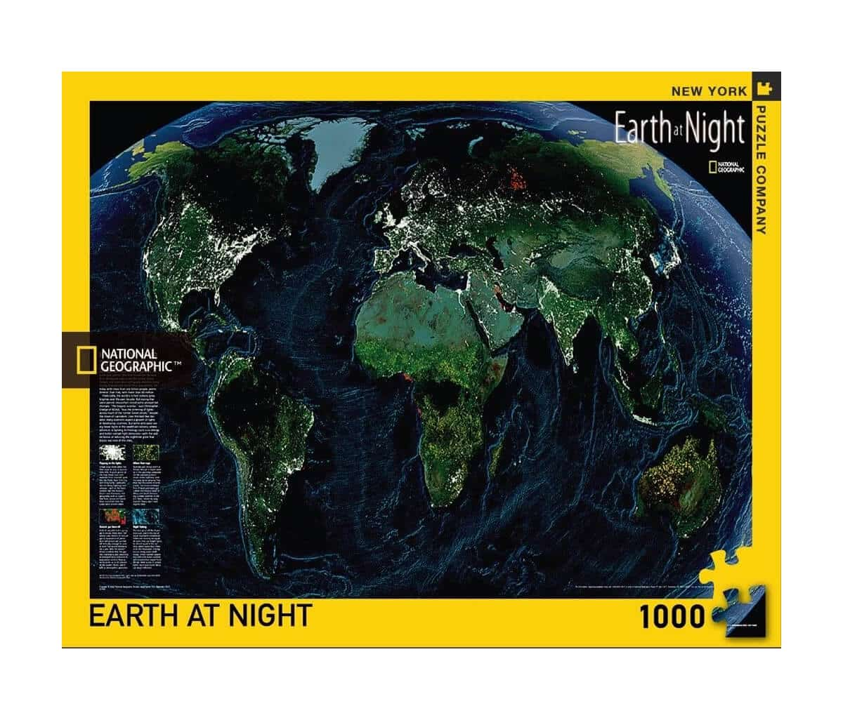 New York Puzzle Company - National Geographic at Night
