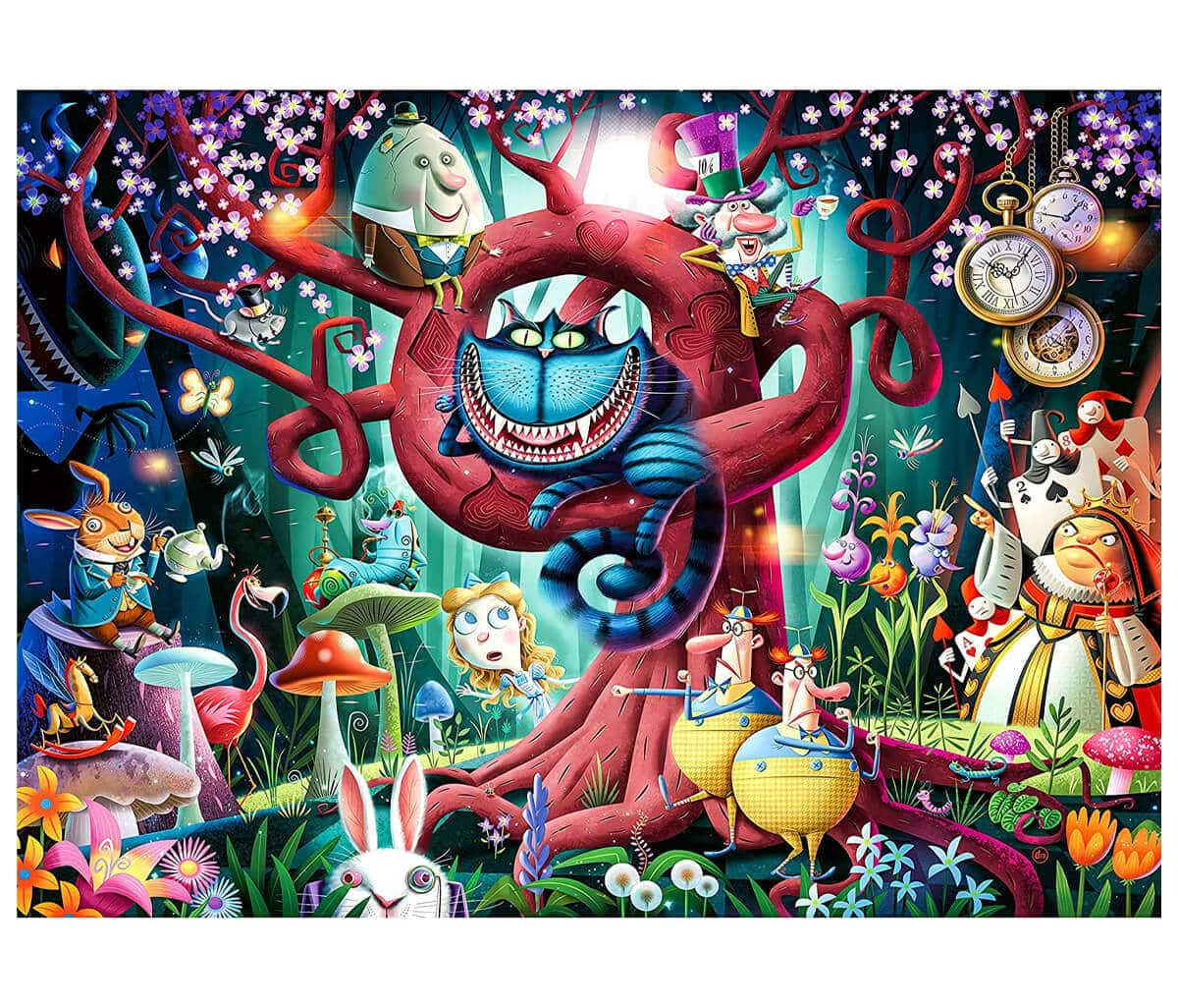 Ravensburger Most Everyone is Mad 1000 Piece Puzzle for Adults