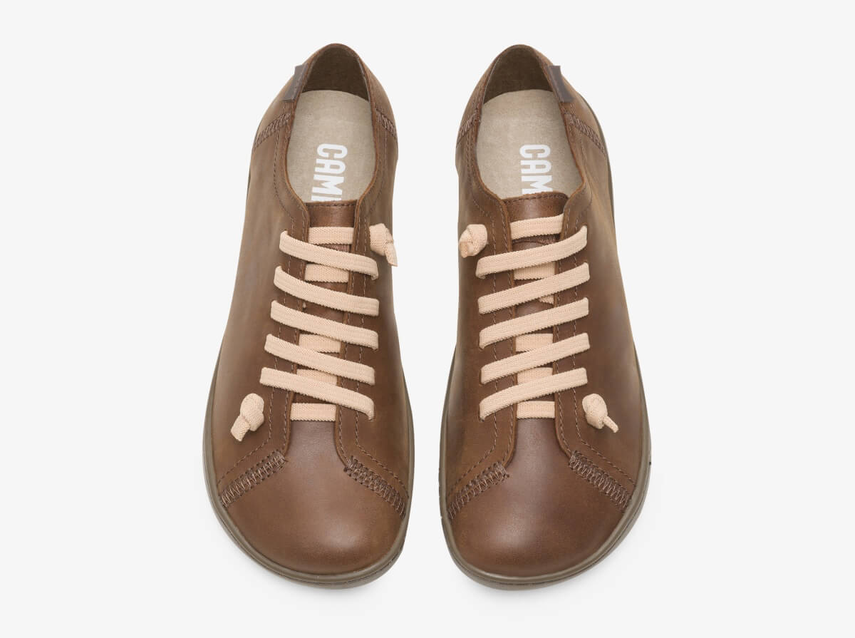Camper Pen Brown Casual Shoes for Women