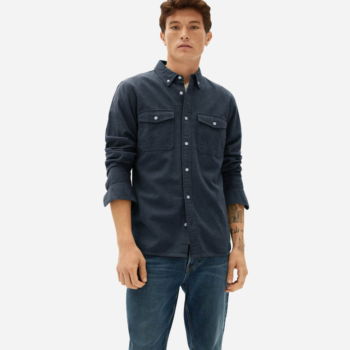Everlane - The Brushed Flannel Shirt