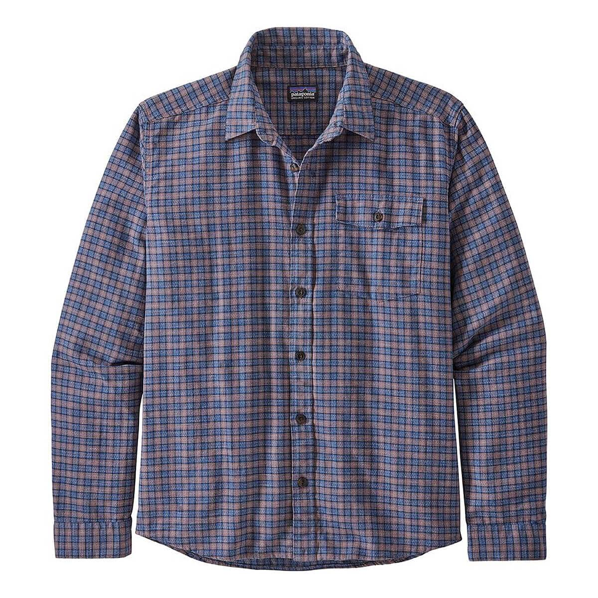 8. Patagonia Lightweight Fjord Flannel Shirt