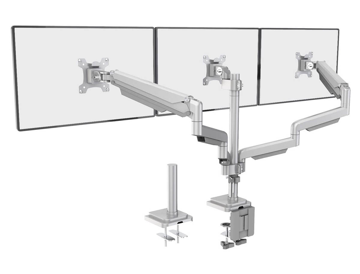 Wali Premium Triple Monitor Mount