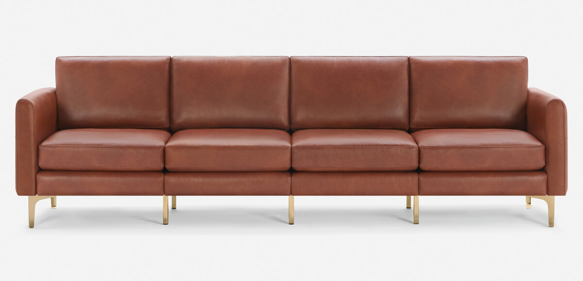 Arch Nomad Leather King Sofa