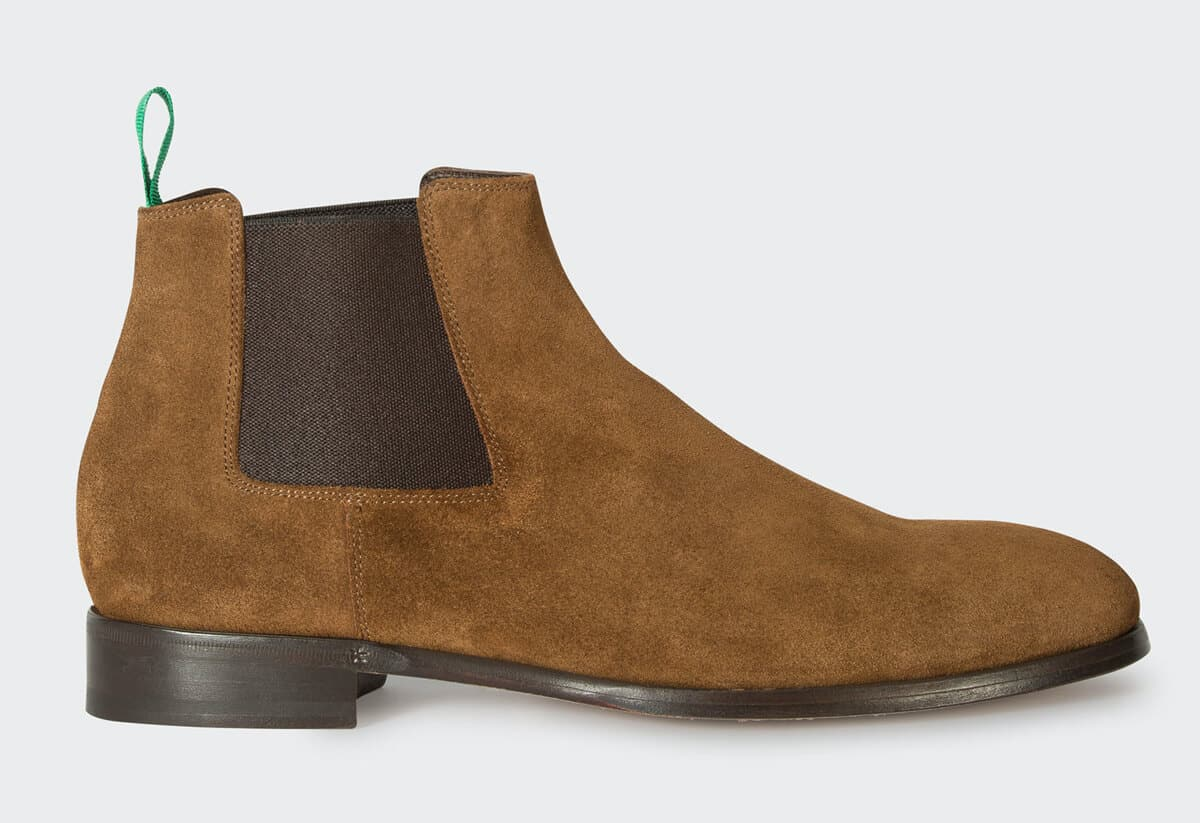 Paul Smith Tan Suede Crown