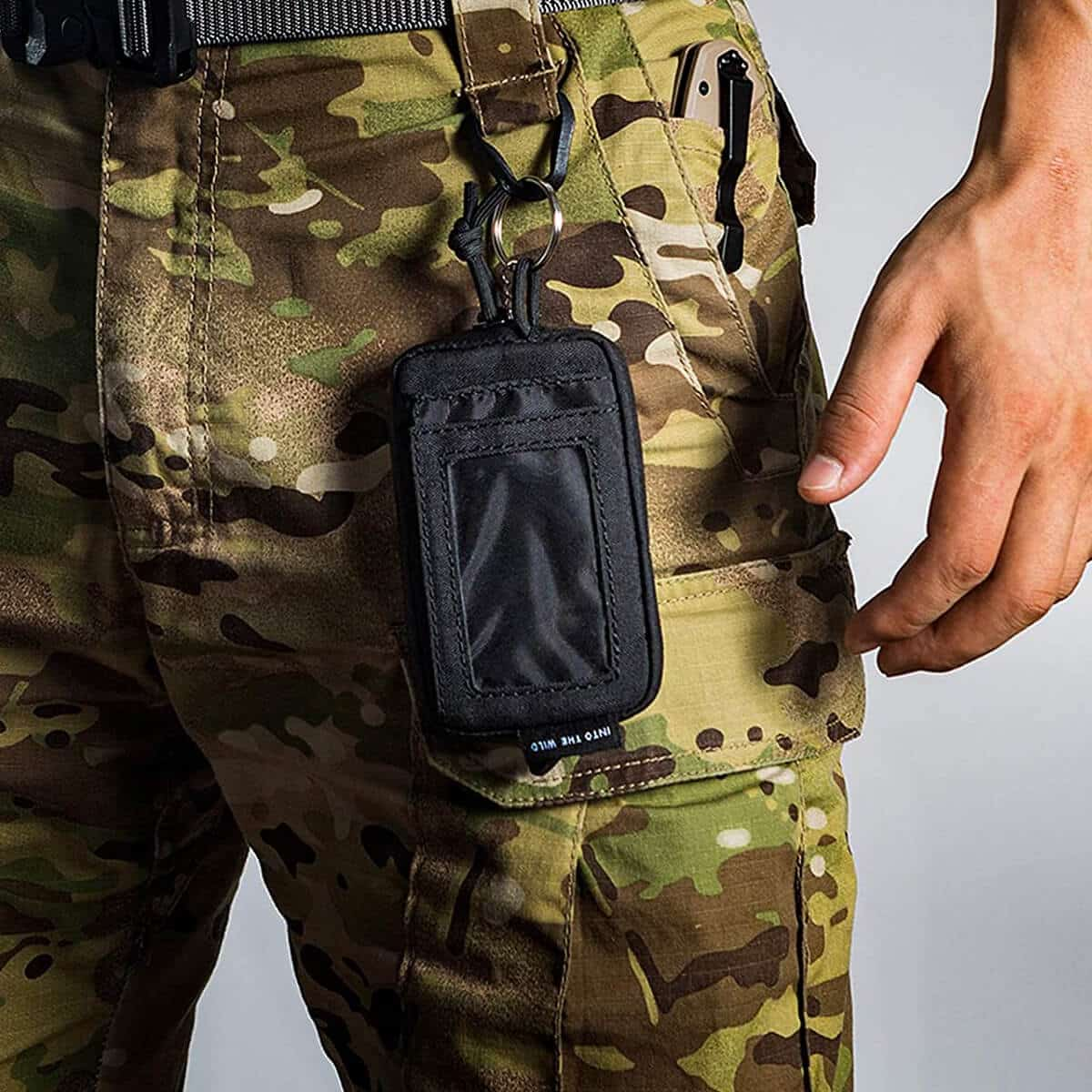 OneTigris Front Pocket Wallet with Waterproof Zippers