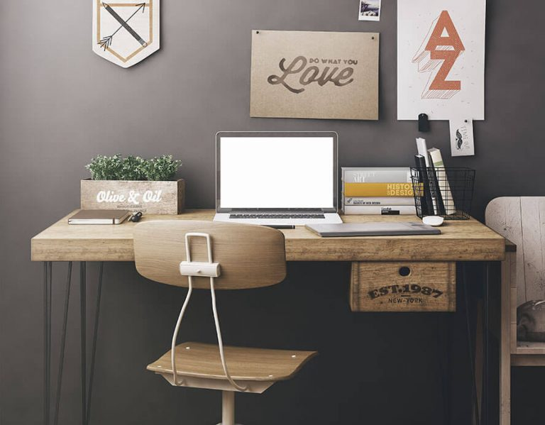 Stylish Small Desks for Tiny Spaces
