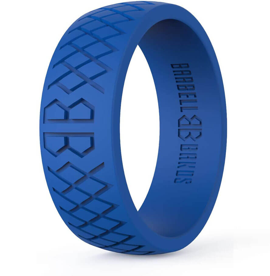 Barbell Bands Silicone Ring for Men