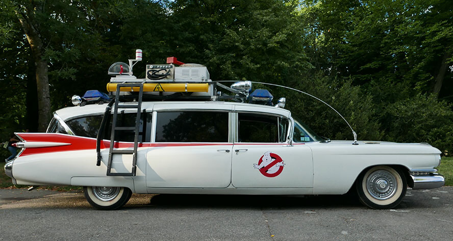 Ecto-1 Hearse – Ghostbusters (1984)