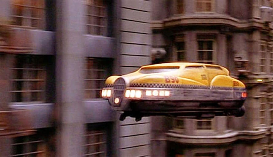 Flying Taxi – The Fifth Element (1997)