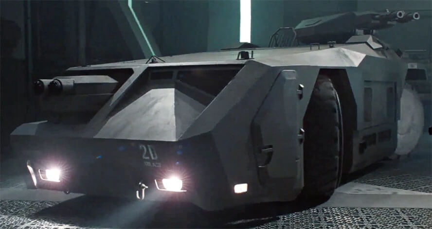 M577 Armored Personnel Carrier – Aliens (1986)