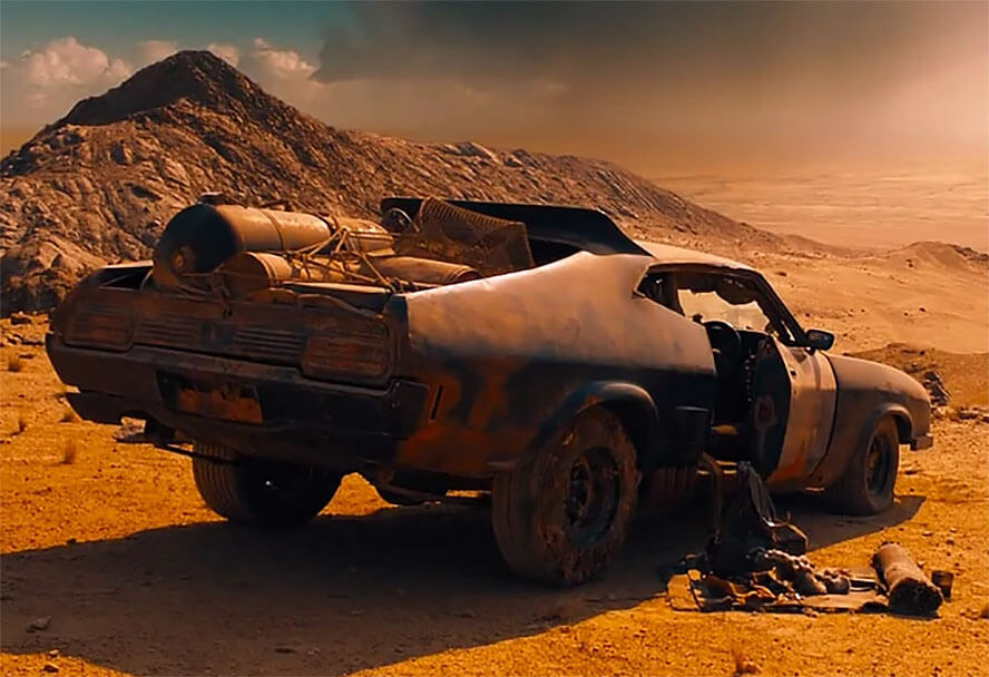 Pursuit Special – Mad Max franchise (1979 – 2015)