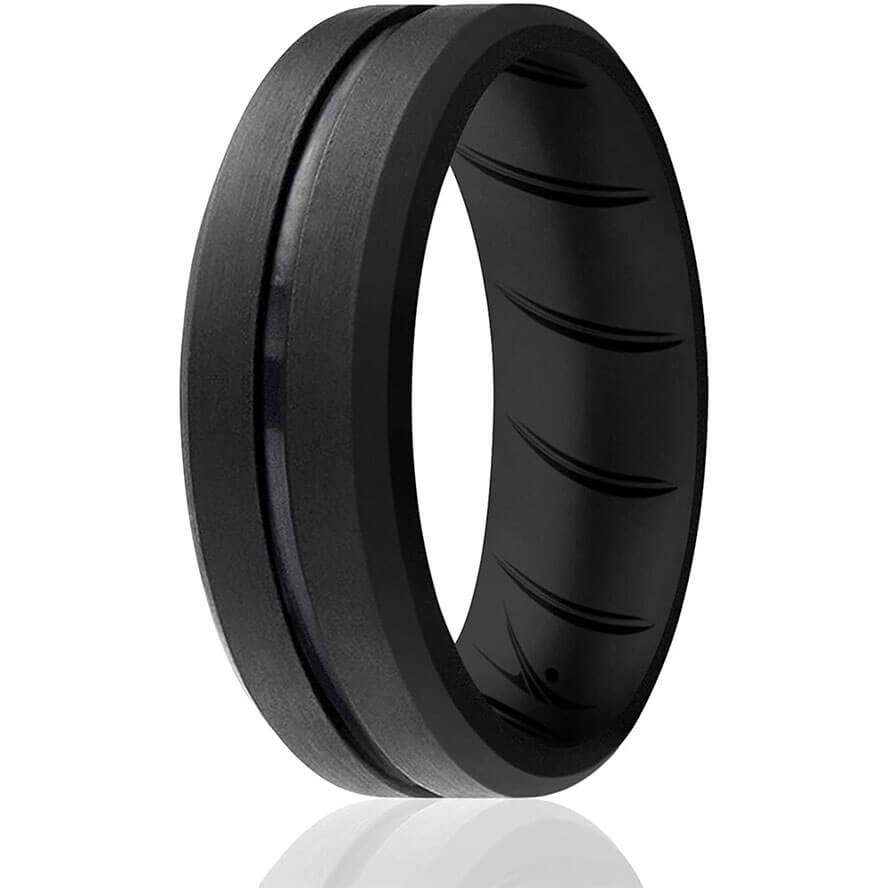 ROQ Breathable Silicone Rings for Men